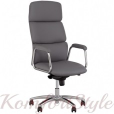California steel chrome (Калифорния) кресло для руководителя