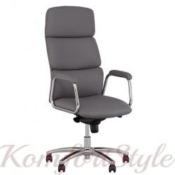 California steel chrome comfort (Калифорния) кресло для руководителя
