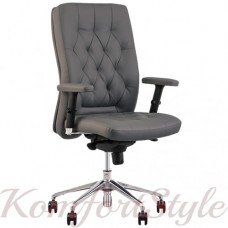 Chester R steel chrome (Честер) кресло руководителя