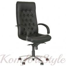 Fidel lux steel chrome (Фидель люкс) офисное кресло руководителя