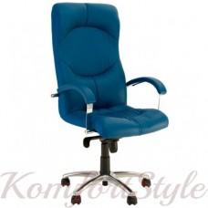 Germes (Гермес) steel chrome кресло для офиса директора