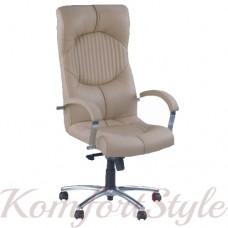 Germes (Гермес) steel chrome comfort кресло для офиса директора