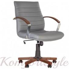 Iris Wood EX (Ирис) Steel LB Chrome (TILT) кресло для руководителя