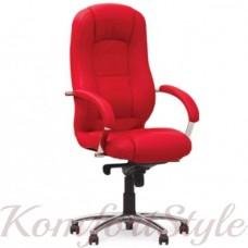 Modus steel chrome (Модус) офисное кресло руководителя