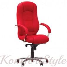 Modus steel chrome comfort (Модус) офисное кресло руководителя на базе комфорт