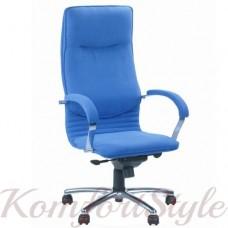 Nova steel chrome comfort (Нова) кресло для работы за компьютером на базе комфорт