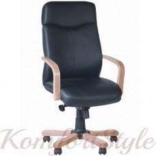 Rapsody extra (Рапсодия экстра)офисное кресло руководителя с инкрустацией деревом