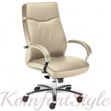 Rapsody steel chrome (Рапсодия) кресло для офиса руководителя