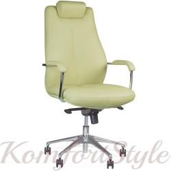 Sonata steel chrome (Соната) офисное кресло руководителя