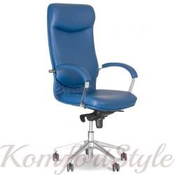 Vega steel chrome (Вега) офисное кресло руководителя