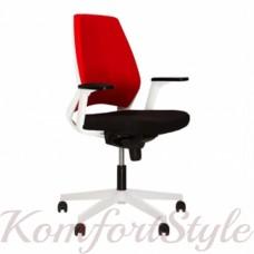 4U (Фо ю) R black/white кресло компьютерное