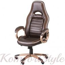 Кресло офисное Aries brown