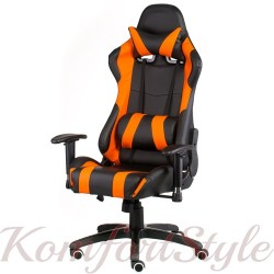 Геймерское кресло ExtremeRace black/orange