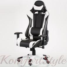 Геймерское кресло ExtremeRace black/white