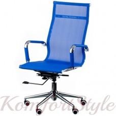 Кресло руководителя Solano mesh blue