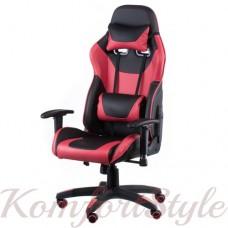 Геймерское кресло ExtremeRace black/red