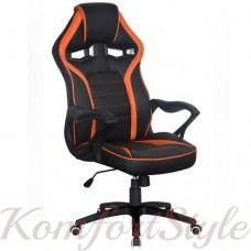 Геймерское кресло Game black/orange