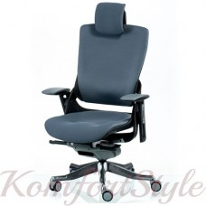 Кресло руководителя WAU2 SLATEGREY FABRIC