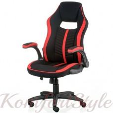 Геймерское кресло Prime black/red