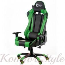 Геймерское кресло ExtremeRace black/green