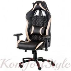 Геймерское кресло ExtremeRace 3 black/cream