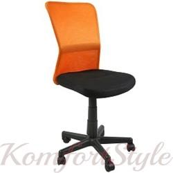 Кресло офисное BELICE, Black/Orange