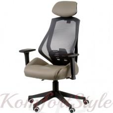 Кресло руководителя Alto grey