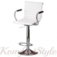 Барный стул  Bar white plate