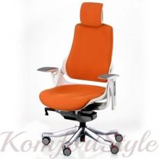 Кресло  руководителя  WAU MANDARIN FABRIC WHITE