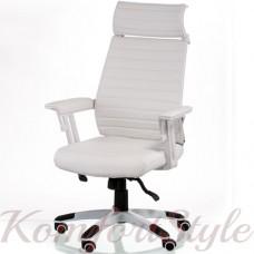 Кресло  руководителя  Monika white
