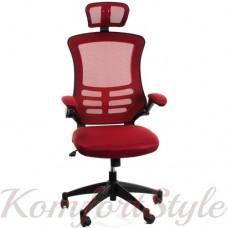 Кресло  руководителя  RAGUSA, red