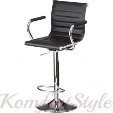 Барный стул  Bar black plate