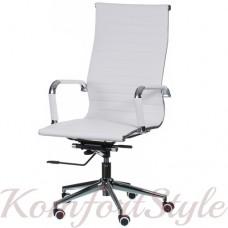 Кресло  руководителя  Solano artleather white