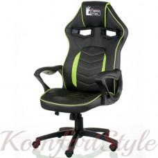 Кресло руководителя Nitro black/green