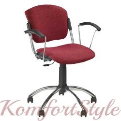 ERA GTP chrome (Эра поворотный) кресло офисное для персонала