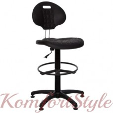 Laborant GTS ring base stopki (Лаборант) кресло офисное для персонала