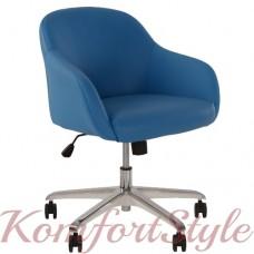 Wait GTP chrome (Вейт) кресло офисное для зон ожидания
