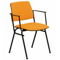 Isit arm black (Изит арм черн) стул офисный для посетителей