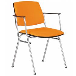Isit arm chrome (Изит арм хром) офисный стул для посетителей