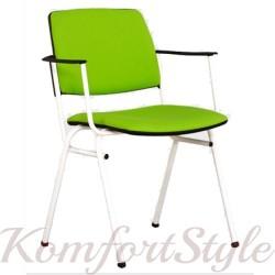 Isit white (Изит вайт) стул офисный для посетителей
