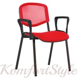 Iso Net arm (Исо c подлокотниками) стул офисный для посетителей