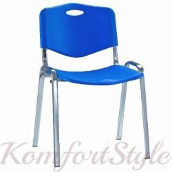 ISO chrome plast (Исо хром пласт) стул офисный с пластмассовой спинкой и сидением